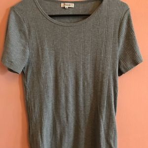 Madewell heather tee